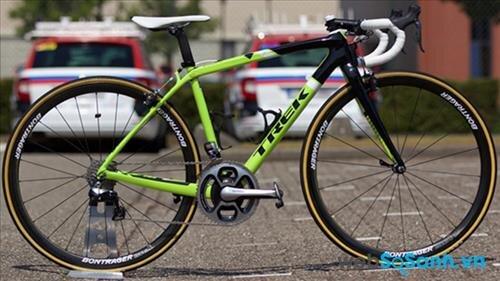 Chiếc xe được đội đua Trek Factory Racing sử dụng trong Tour de France 2015