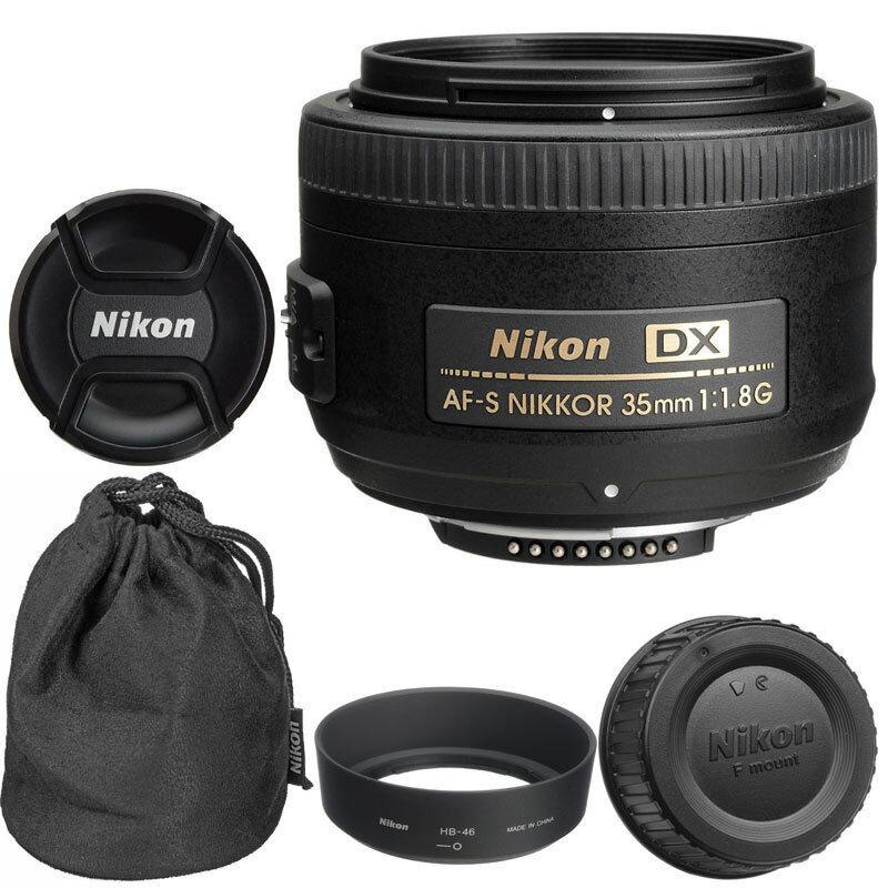 Lens Nikon AF-S DX 35mm f1.8