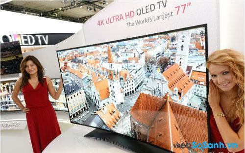 TV OLED hứa hẹn sẽ thay thế TV LED, LCD. Nguồn Internet.