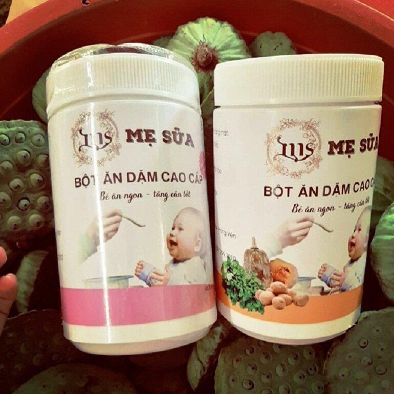 Bột ăn dặm Mẹ Sữa là thương hiệu của Việt Nam