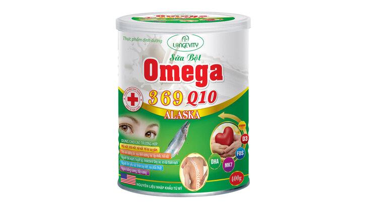 Sữa bột Omega 369 Q10 Alaska có tốt không ?