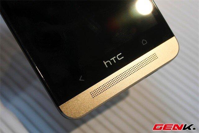 Mở hộp HTC One phiên bản Gold