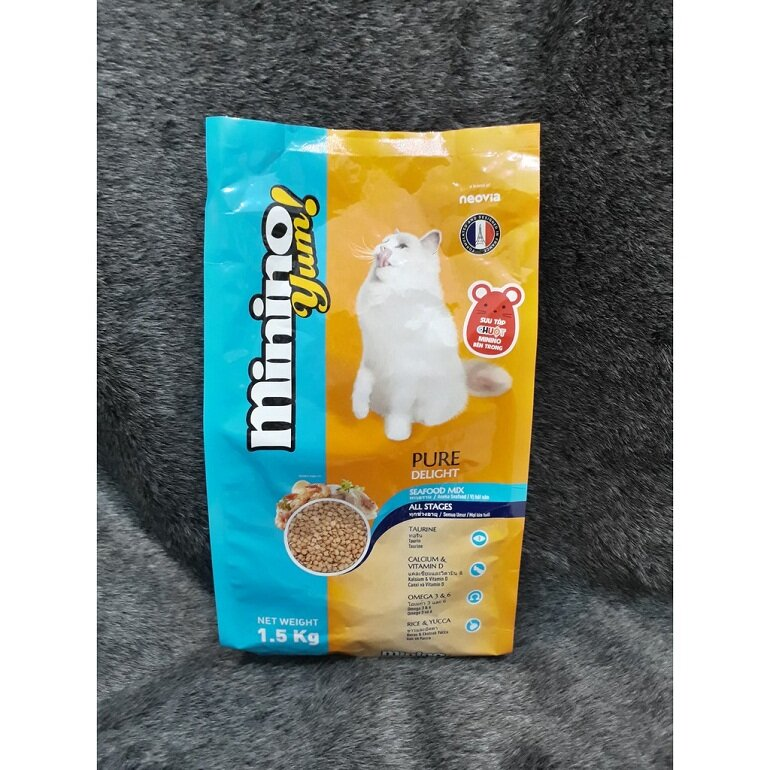 Thức ăn cho mèo Minino Yum