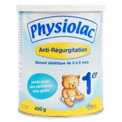 Sữa bột Physiolac AR 1 - hộp 400g (dành cho trẻ từ 0 - 6 tháng)
