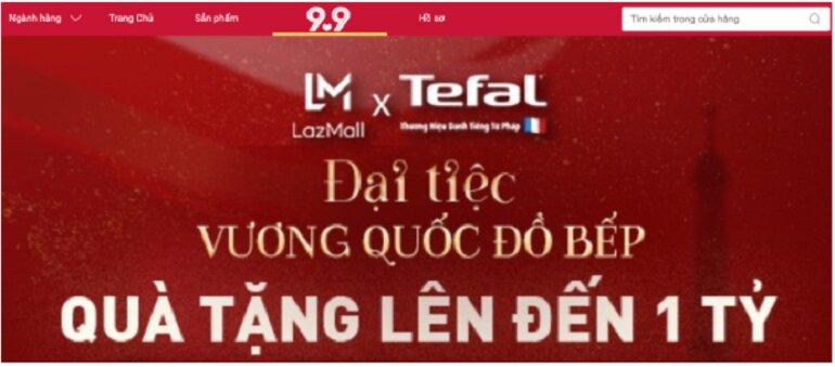 Đại tiệc vương quốc đồ bếp Tefal tặng quà lên đến 1 tỷ