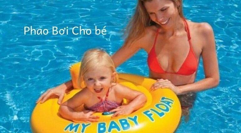 Phao bơi chống lật phù hợp cho các bé từ 3 tháng tuổi đến 3 tuổi