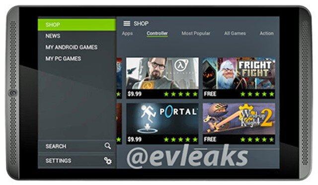 Tablet Nvidia Shield 2014 - Máy tính bảng chơi game chuyên dụng.