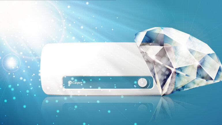 Ruột bình được tránh men kim cương