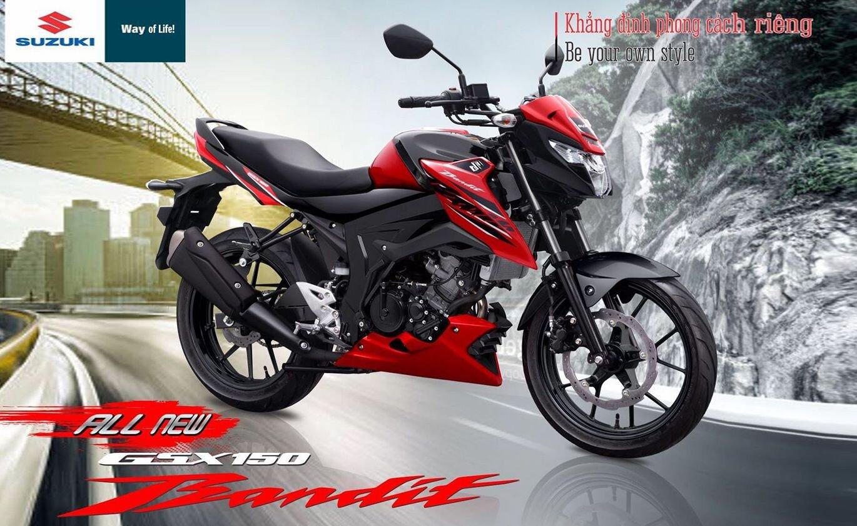 Suzuki GSX150 Bandit thiết kế mạnh mẽ, góc cạnh