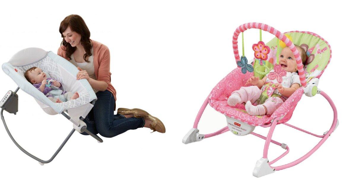 5 tác dụng của ghế rung cho bé sơ sinh