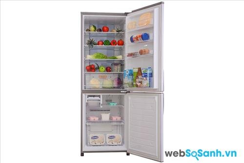 Tủ lạnh Sanyo SR-Q345RB (nguồn: internet)