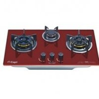 Bếp gas âm Capri CR-309KT (CR 309(RED)- Bếp 3 lò, đen