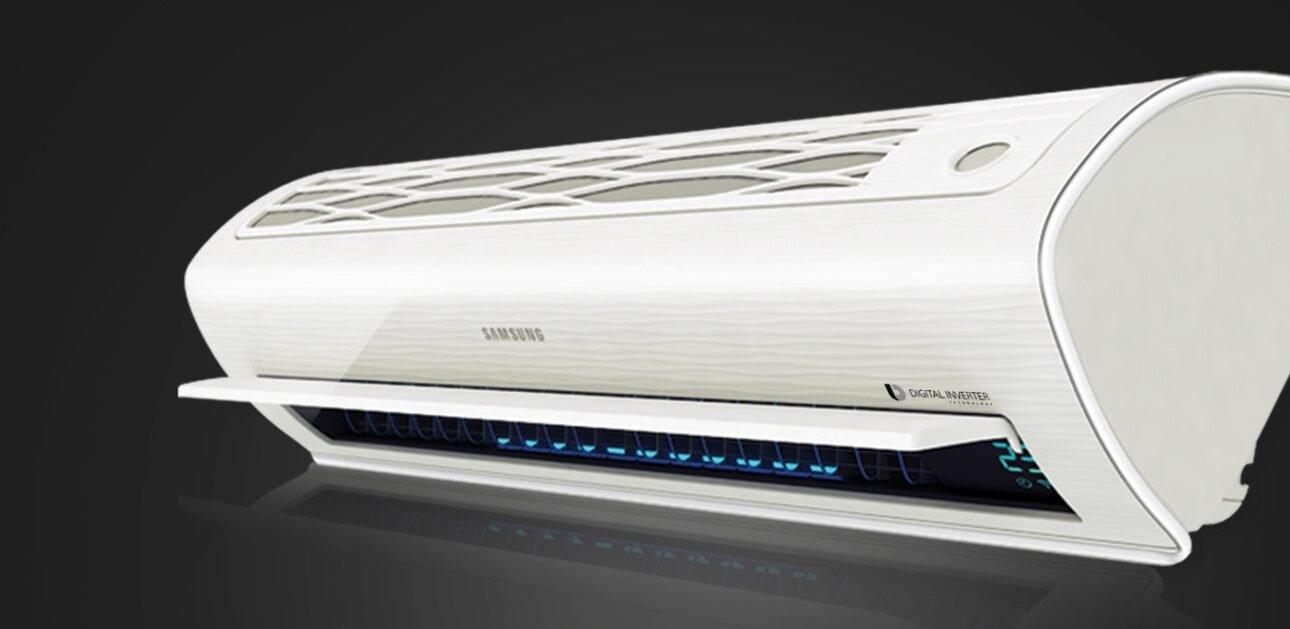 Máy lạnh Samsung với thiết kế thanh lịch và sang trọng