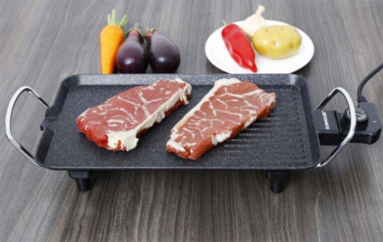 Nướng xiên thịt rau củ thơm ngon và giàu dinh dưỡng