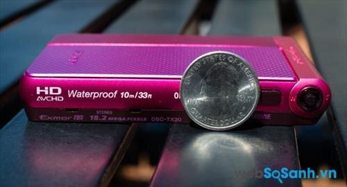 Máy ảnh du lịch Cyber-shot DSC-TX30 là một trong những mẫu thuộc dòng ultracompact của Sony