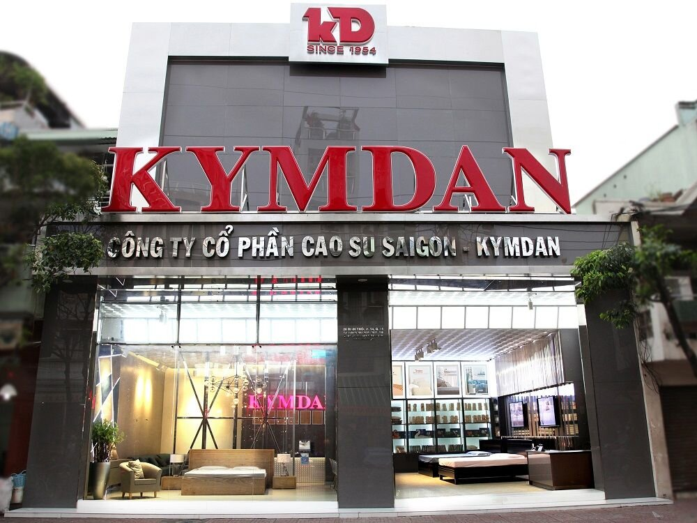 Kymdan là thương hiệu sản xuất đệm và gối cao su thiên nhiên hàng đầu Việt Nam rất được tin dùng