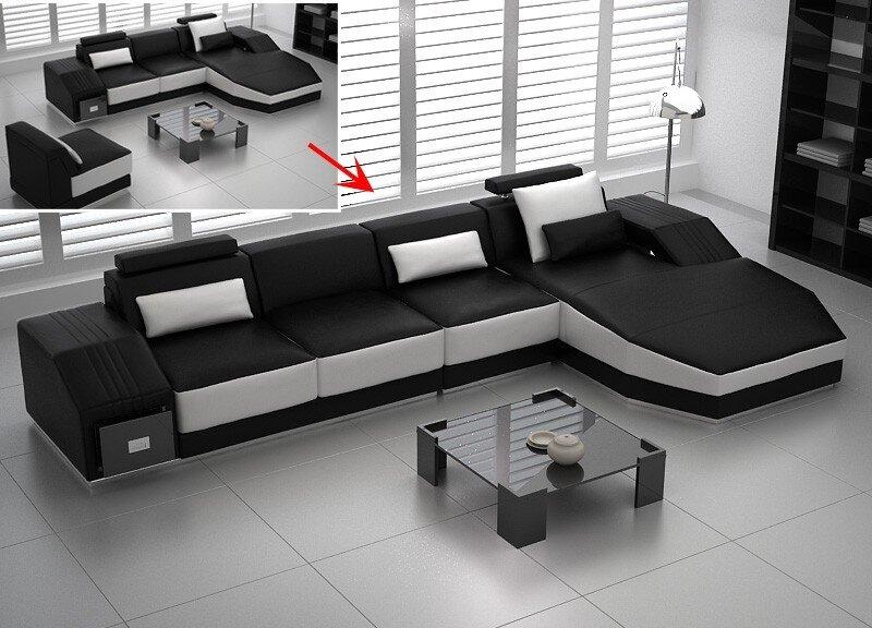 Nổi bật với sofa phòng khách tông màu