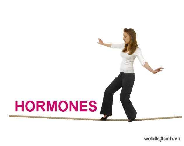 Mất cân bằng hoóc - môn là vấn đề rất nghiêm trọng