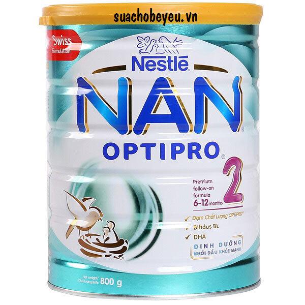 Sữa bột Nan Optipro 2 - 800g