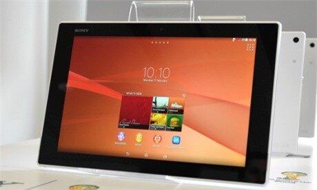Sony Xperia Z2 Tablet computer