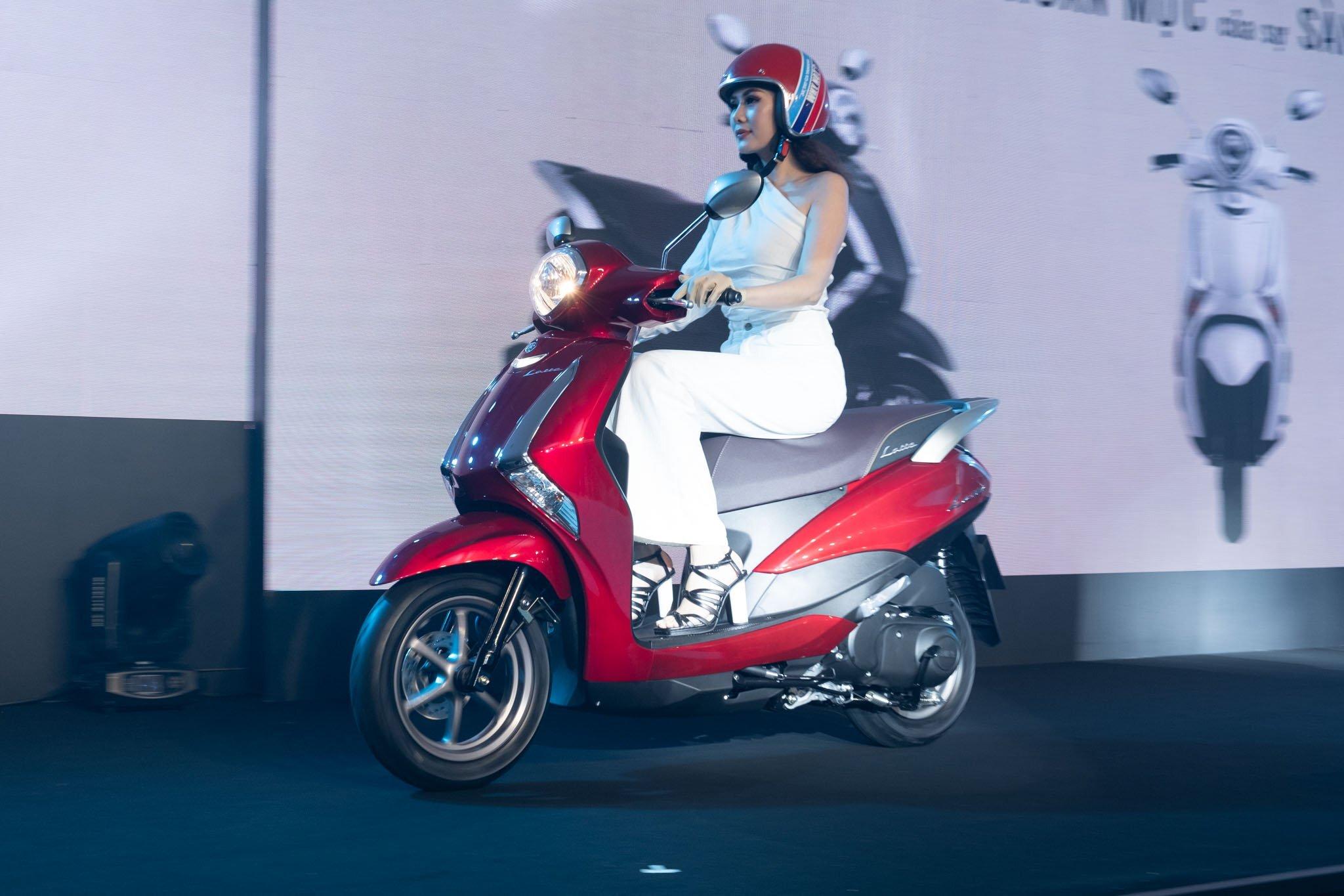 Yamaha Latte có trọng lượng nhẹ và kích thước nhỏ gọn
