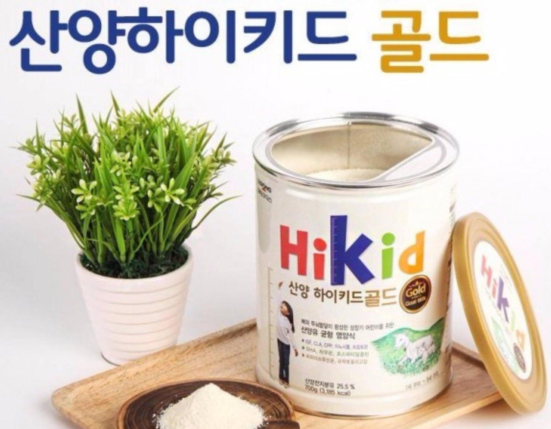 Sữa bột hương vani Hikid