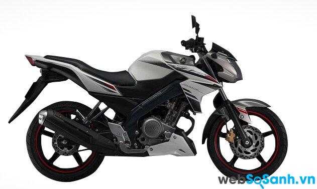 FZ150i là một chiếc naked bike hầm hố