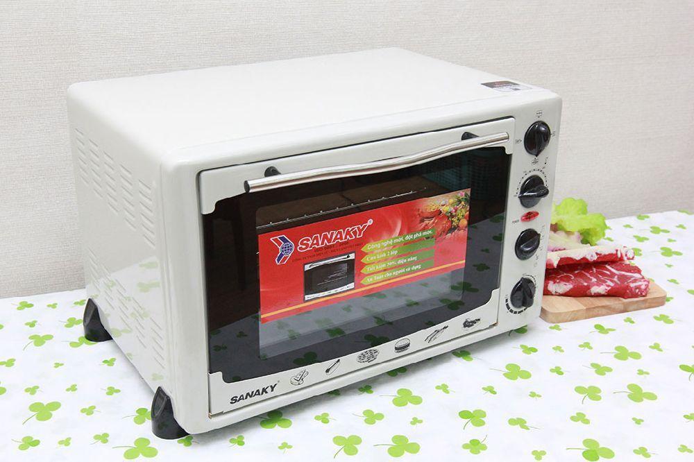 Đánh giá lò nướng Sanaky 35l có tốt không, giá bao nhiêu, mua ở đâu | monmientrung.com