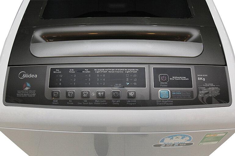 Máy giặt lồng đứng Midea MAM-8006, 8kg