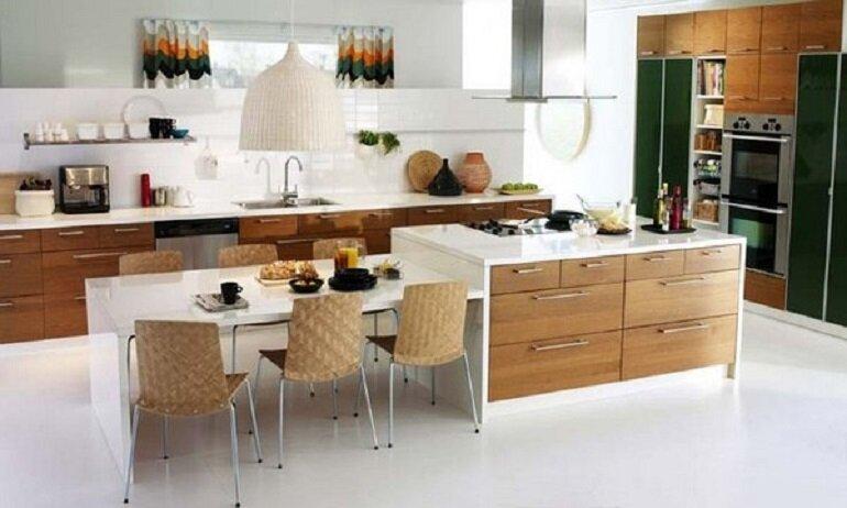 nội thất bếp và nhà ăn