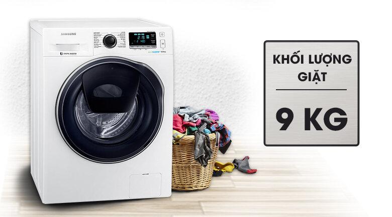 Máy giặt Samsung Wash 9kg WW90K6410QW/SV