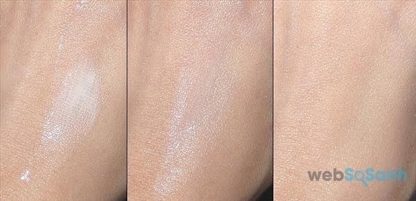 review kem chống nắng cho da nhạy cảm Shiseido