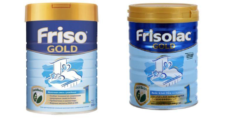 Sữa Friso Gold có tăng cân không ?