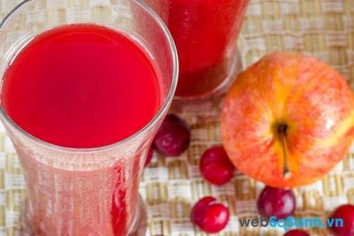 Nước ép táo tốt cho da