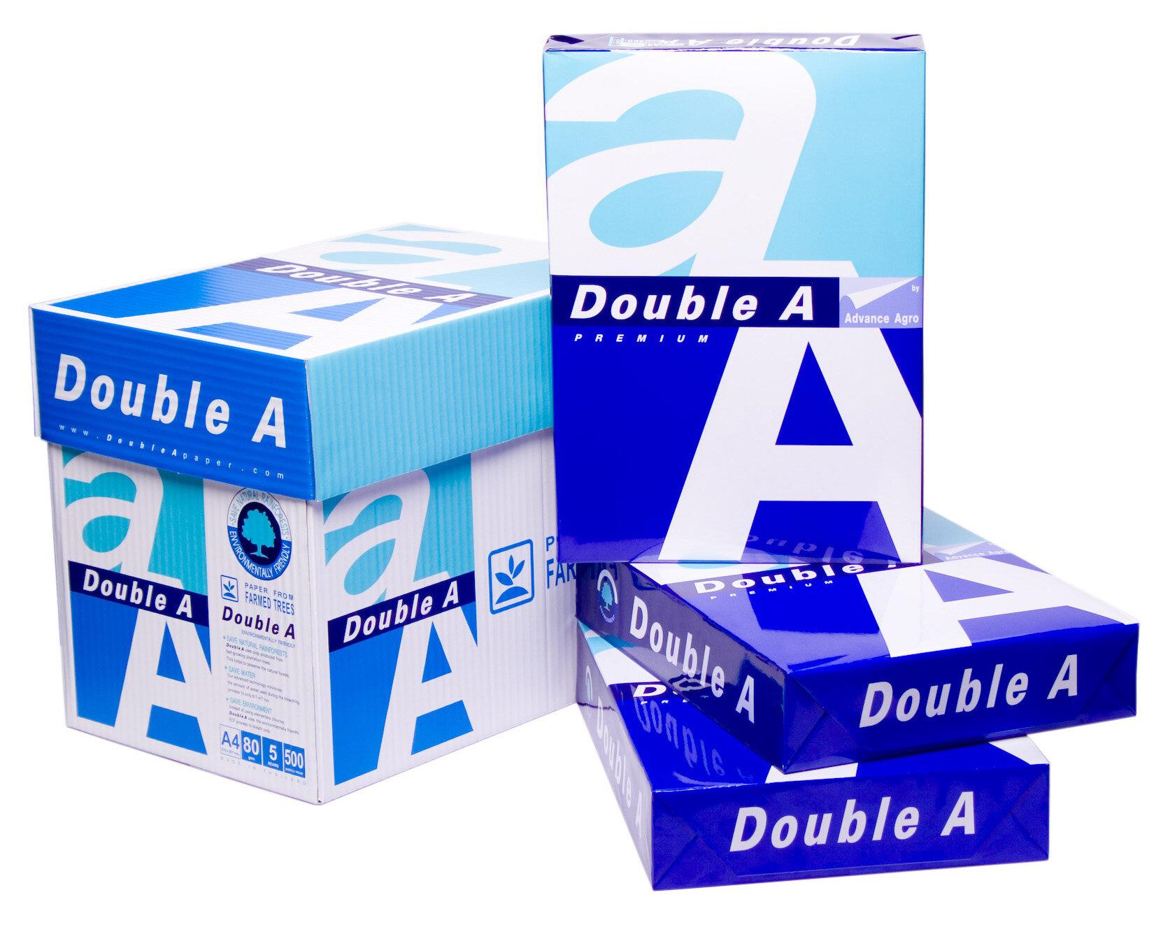 Giấy in hãng Double A ( Nguồn: vpphanoi.com)