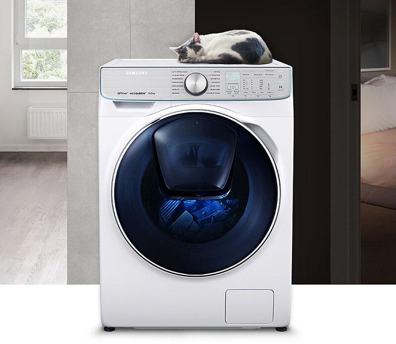 Hình ảnh máy giặt Samsung cửa ngang