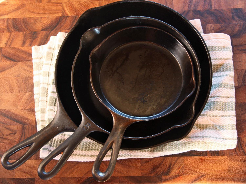 Chảo gang cho bếp từ rất tốt và tiện dụng