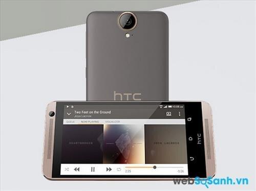 Màn hình điện thoại One E9 Plus có kích thước 5.5 inch, với độ phân giải 1440 x 2560 pixel