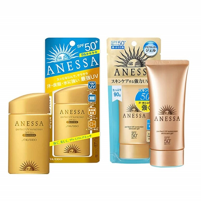 Kem Chống Nắng Anessa Perfect Pearly Shiseido SPF50