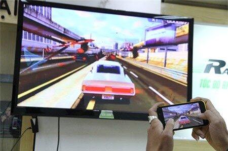 Các tính năng tích hợp như HDMI không dây đem đến trải nghiệm game thú vị cho người dùng.