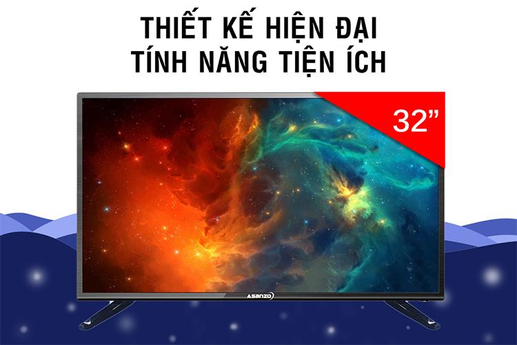 Tivi LED Asanzo 32S610 - 32 inch, HD - Giá rẻ nhất: 2.795.000 vnđ