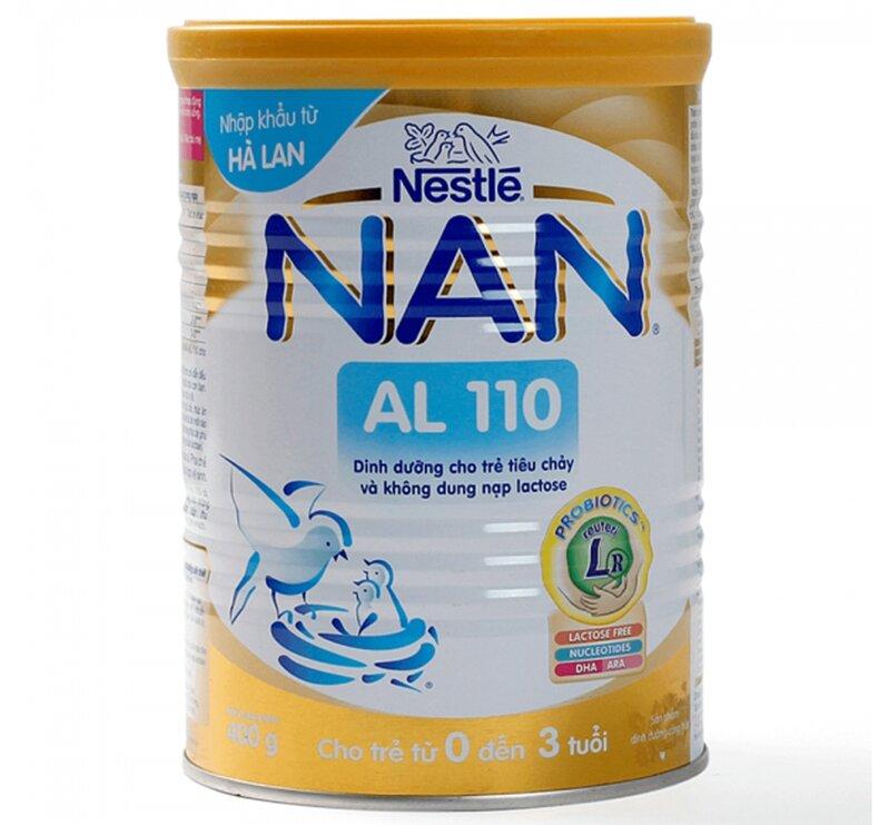 Sữa Nan Nga AL110 tốt cho trẻ tiêu hóa kém