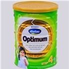 Sữa bột Vinamilk Dielac Optimum số 4 - hộp thiếc 900g (dành cho trẻ từ 2-6 tuổi)