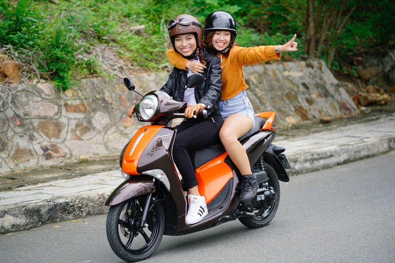 Yamaha Janus 2019 là chiếc xe các chị em phái đẹp nên sở hữu