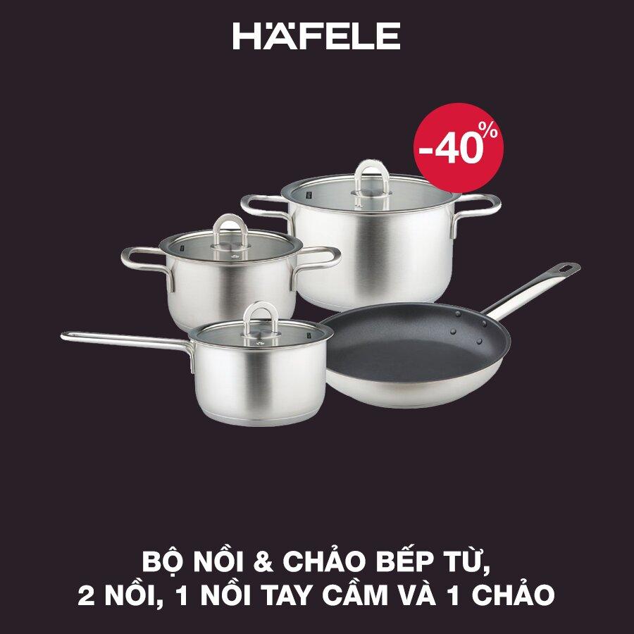 Bộ nồi 4 chi tiết của Hafele