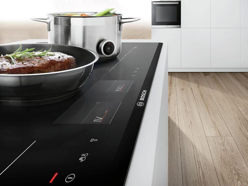 Bếp từ Bosch có thiết kế rất đẹp phù hợp với mọi gia đình