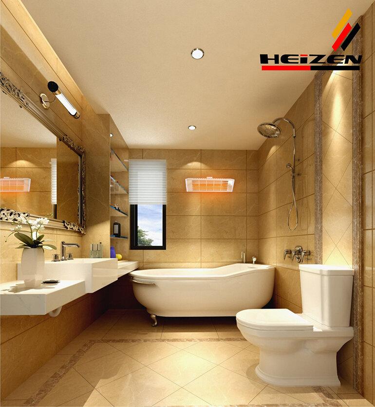 Đèn sưởi Heizen HE-IT610 với thiết kế hiện đại