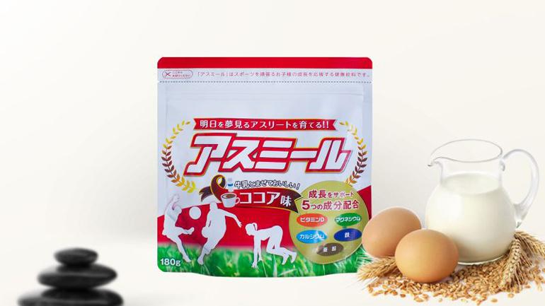 Sữa tăng chiều cao Asumiru của Nhật