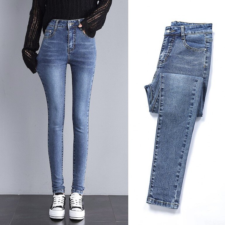 Quần jeans skinny Free & Easy
