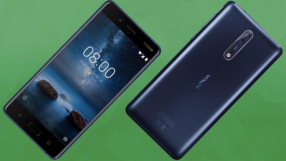 Nokia 8 hỗ trợ hai sim hai sóng